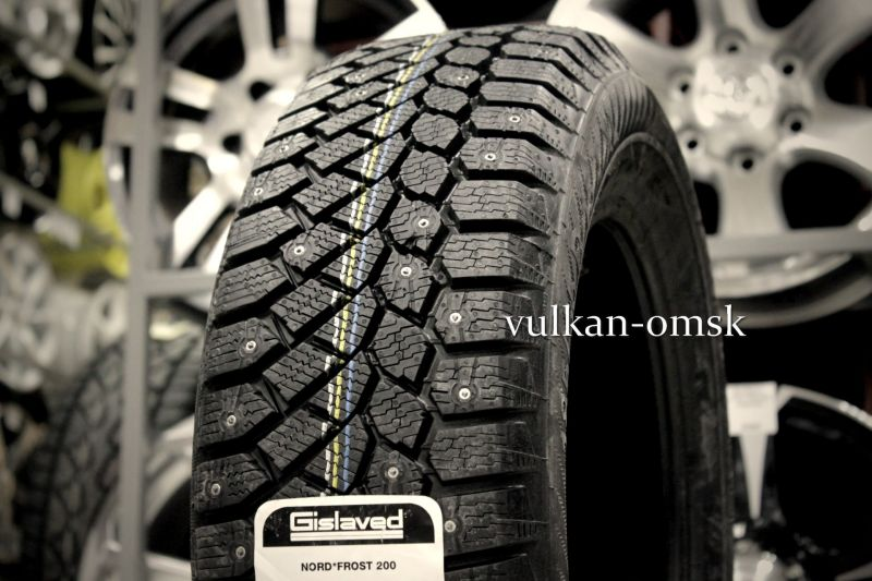 Gislaved Nord Frost 200 HD 185/70 R14 92T (шип.)