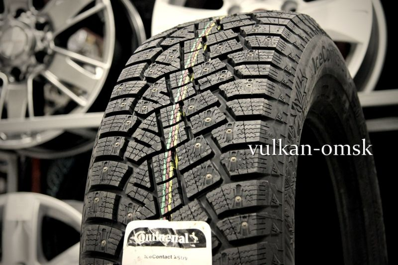 Continental IceContact 2 KD 155/65 R14 75T шип