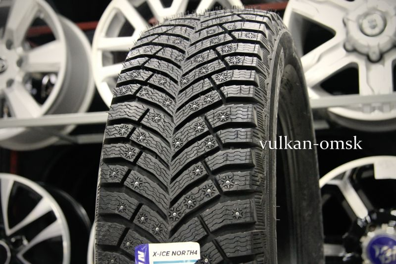 Michellin X-Ice North 4 225/65 R17 106T шип SUV XL