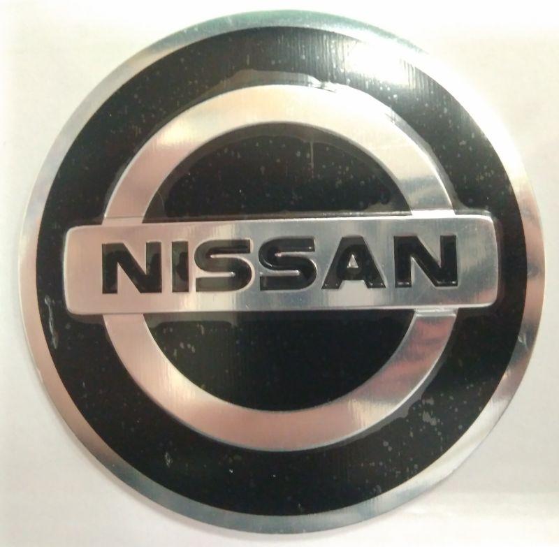 Стикер NISSAN 60 мм выпуклый