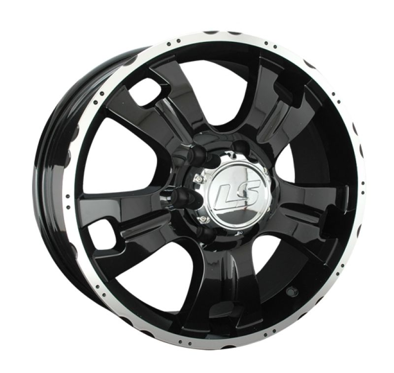 Диск LS Wheels R16 5*139.7 +35/108.5 LS214 BKF