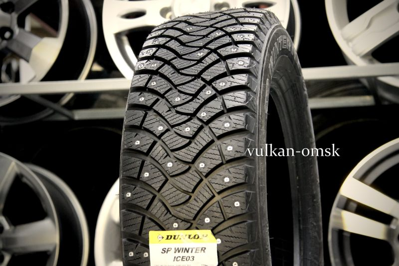 Dunlop SP Winter ICE 03 205/65 R16 98T шип.