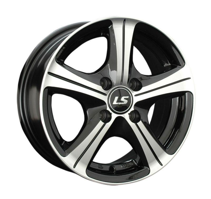Диск LS Wheels R15 4*100 +43/73.1 6.5J LS202 BKF