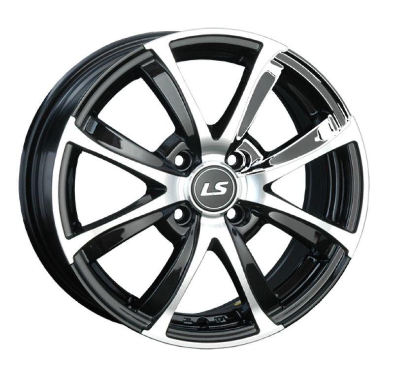Диск LS Wheels R15 4*100 +45/73.1 6.5J LS313 BKF
