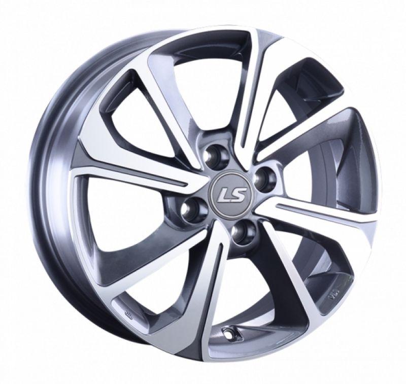 Диск LS Wheels R15 4*100 +50/60.1 6.0J LS1035 GMF