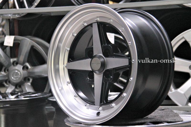 Диск Sakura Wheels R14 4*98 -10/58.6 7.0J B-P/M7 9655