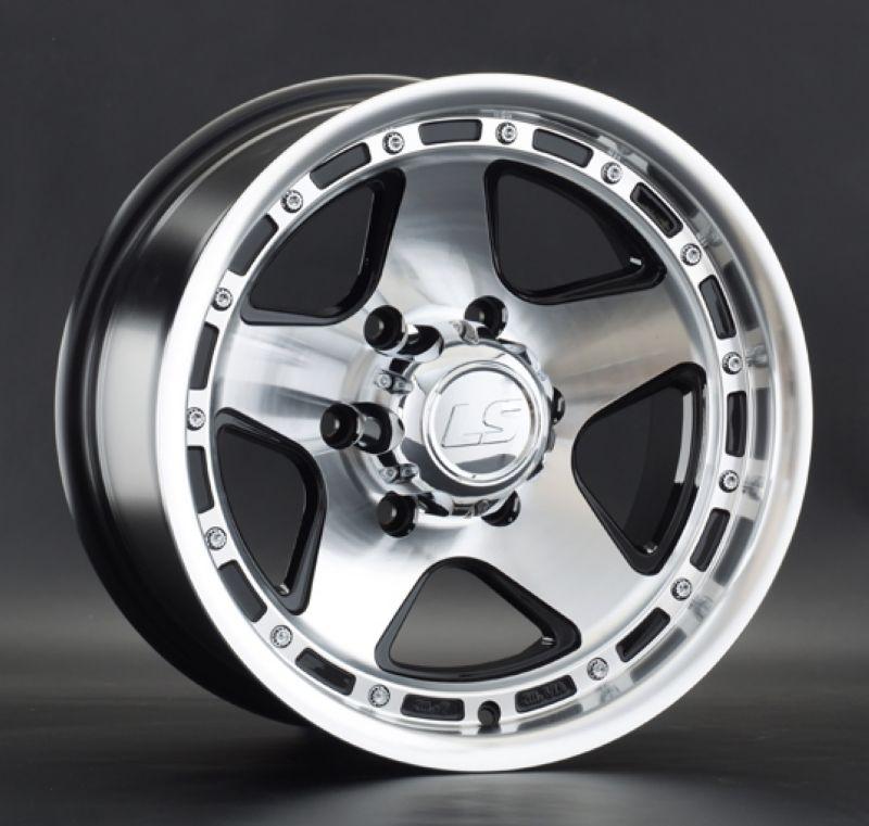 Диск LS Wheels R15 6*139.7 -10/106.1 8.0J LS870 BKF