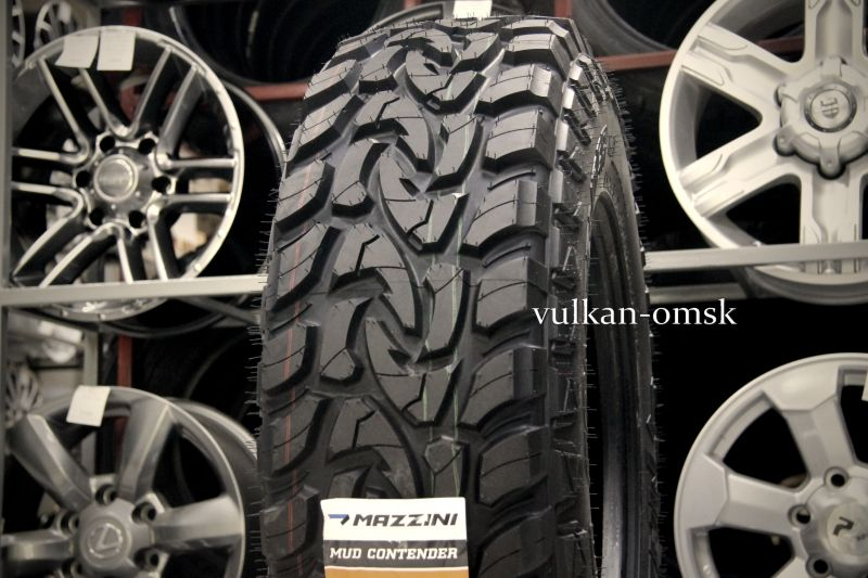 Mazzini Mud Contender 265/70 R17 121/118Q M/T