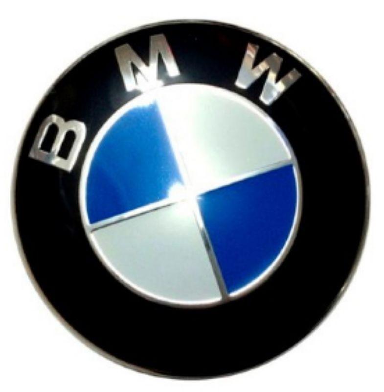 Стикер BMW 54 мм выпуклый