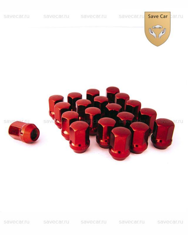 Гайки красные М12x1.5