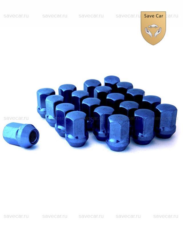 Гайки синие М12x1.25