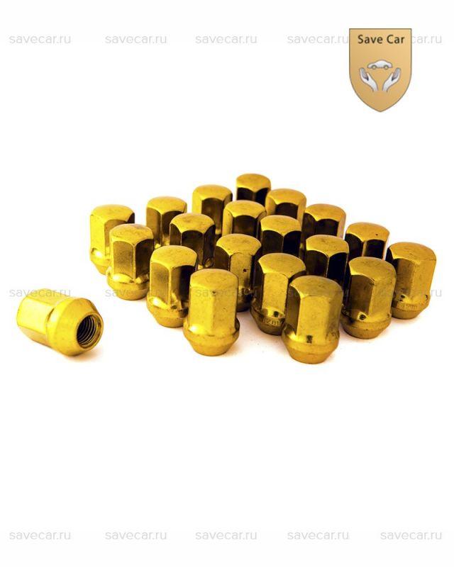 Гайки золотые М12x1.25
