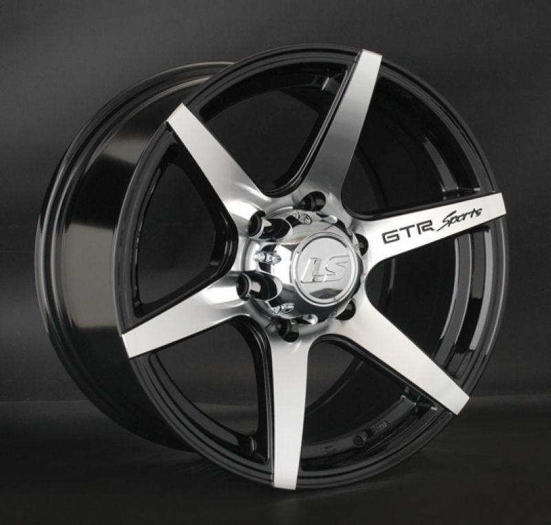 Диск LS Wheels R17 6*139.7 +25/106.1 8.5 LS800 BKF