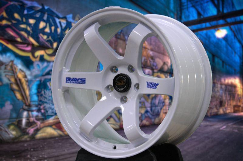 Диск Volk Racing TE37SL R16 5*108 +35/73.1 7.0 Gloss White