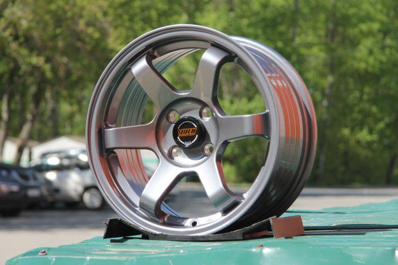 Диск Volk Racing TE37SL R15 4*100 +30/73.1 7.0 Gun Metal