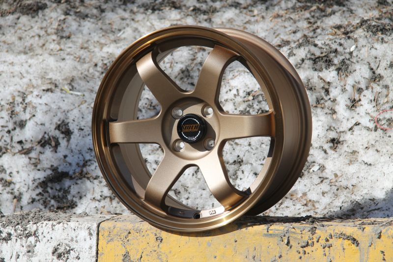 Диск Volk Racing TE37SL R16 4*100 +35/73.1 7.0 Bronze