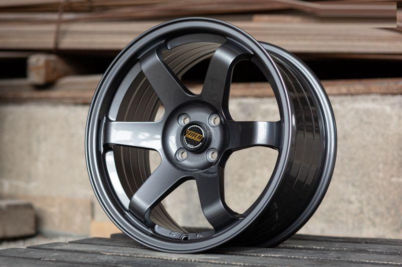 Диск Volk Racing TE37SL R17 4*100 +35/73.1 8.0 Gun Metal