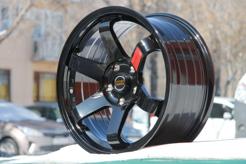 Диск Volk Racing TE37SL R15 4*100 +30/73.1 7.0 Black