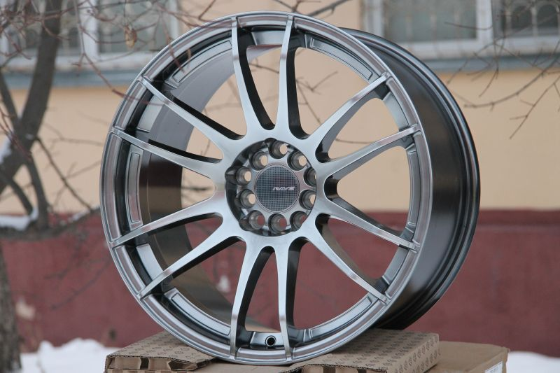 Диск Rays Gram Lights 57xtreme R18 5*100/114.3 +35/73.1 9.5 Hyper Black