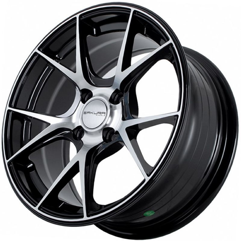 Диск Sakura Wheels R15 4*100 +30/73.1 7.0 Black Polish 1024