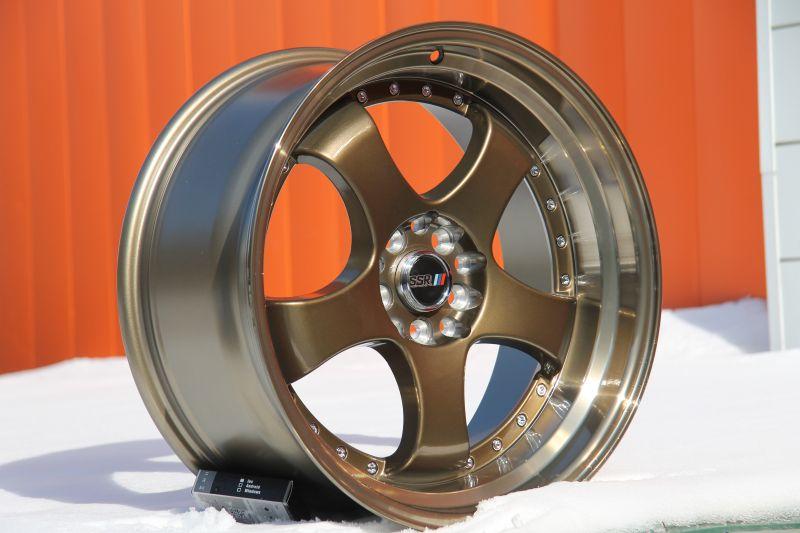 Диск Style SSR SP1 R18 5*100/114.3 +25/73.1 8.5 Bronze