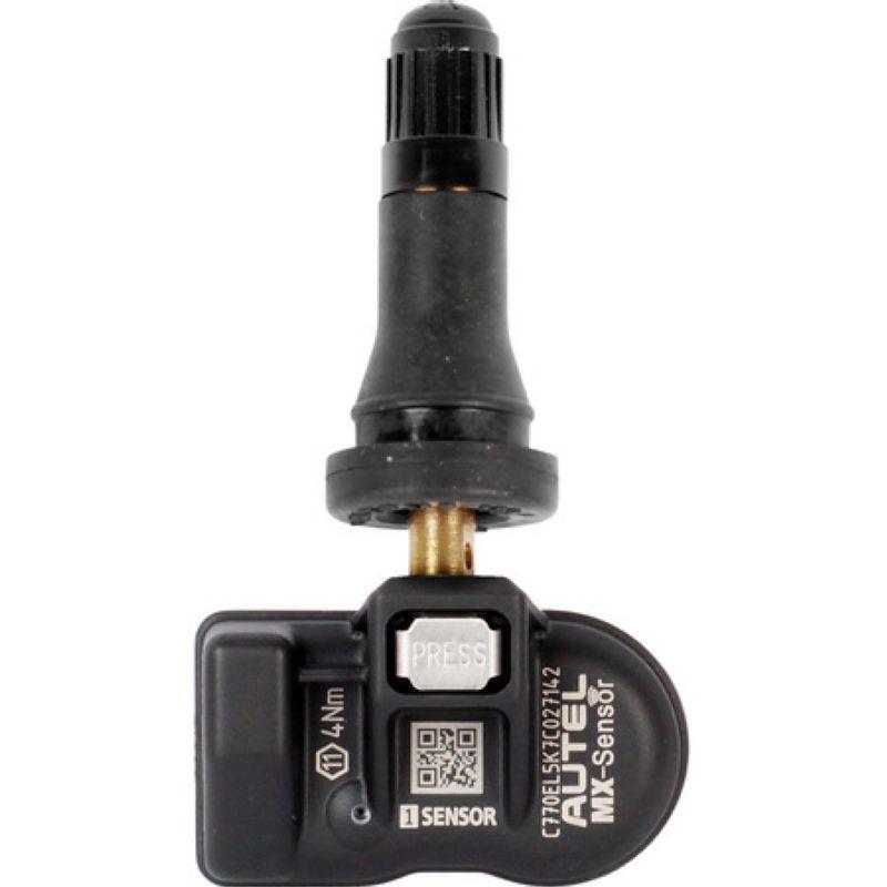Датчик давления в шинах TPMS программируемый Autel резиновый вентиль 433 МГц/315 МГц