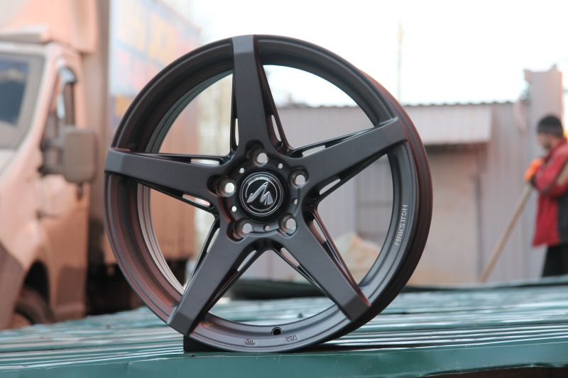 Диск Makstton MST716 R17 5*114.3 +35/73.1 7.5 Matte Graphite Gray With Milling