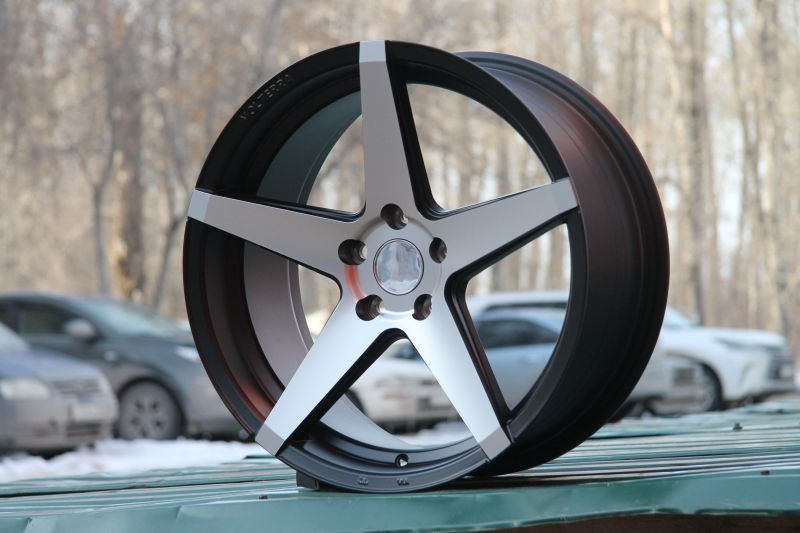 Диск Makstton MST603A R18 5*112 +40/66.6 8.5 Matte Black Machine Face