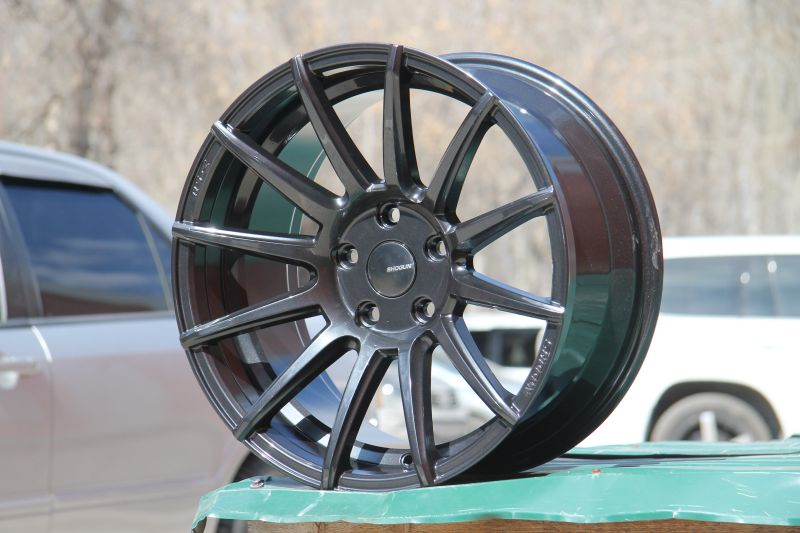 Диск Shogun RS-Z R17 5*114.3 +30/73.1 8.5 Gun Metal