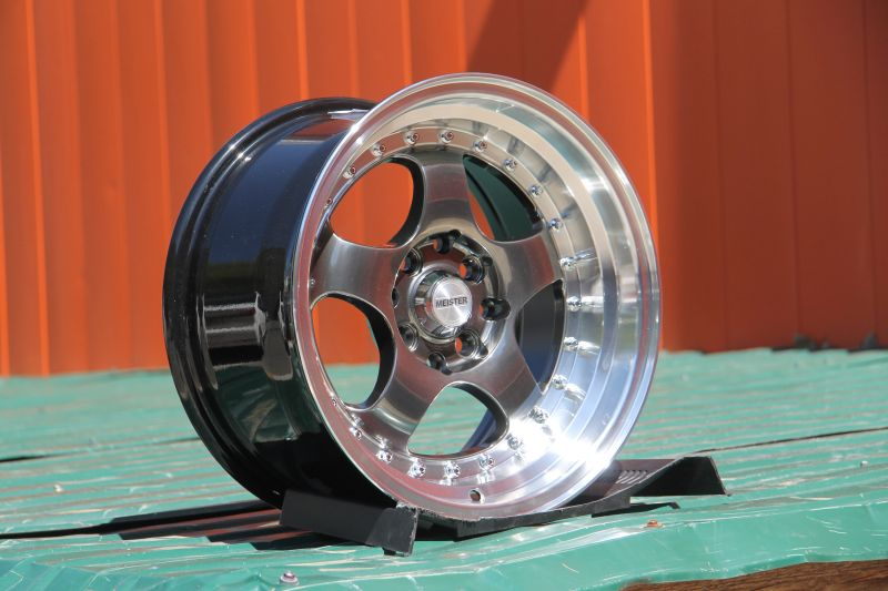 Диск Work Meister S1 R15 4x100/114.3 +20/73.1 8.0 HBML