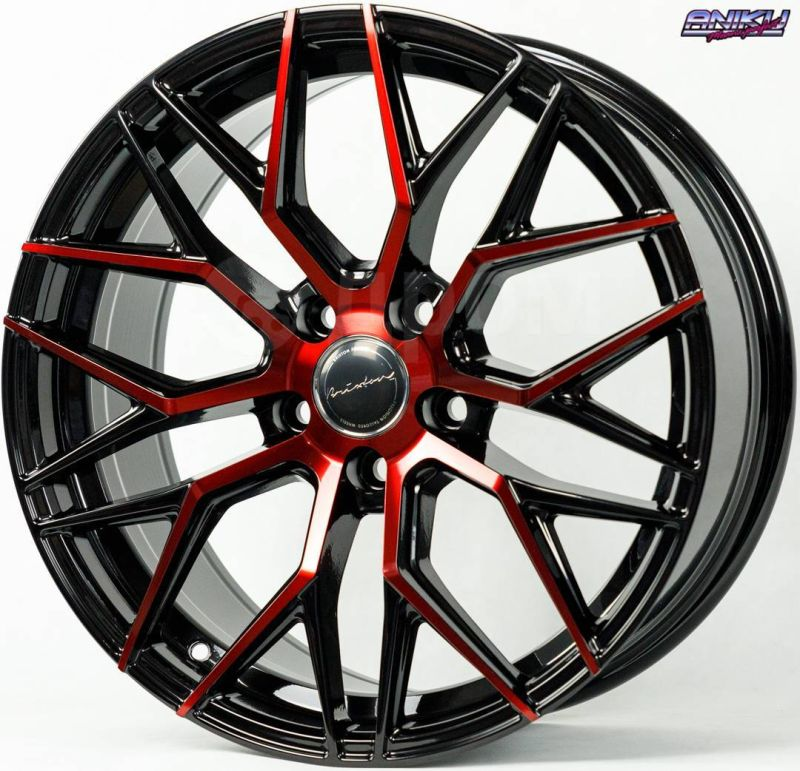 Диск Style Brixton 1273 R18 5*114.3 +35/73.1 8.0 BMF RED