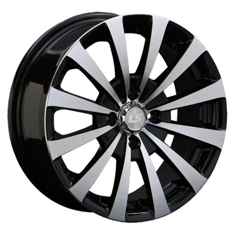 Диск LS Wheels R15 4*100 +38/73.1 6.5 NG247 BKF