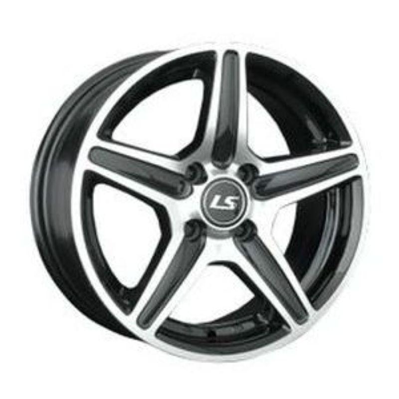 Диск LS Wheels R16 5*114.3 +38/73.1 7.0 LS345 BKF