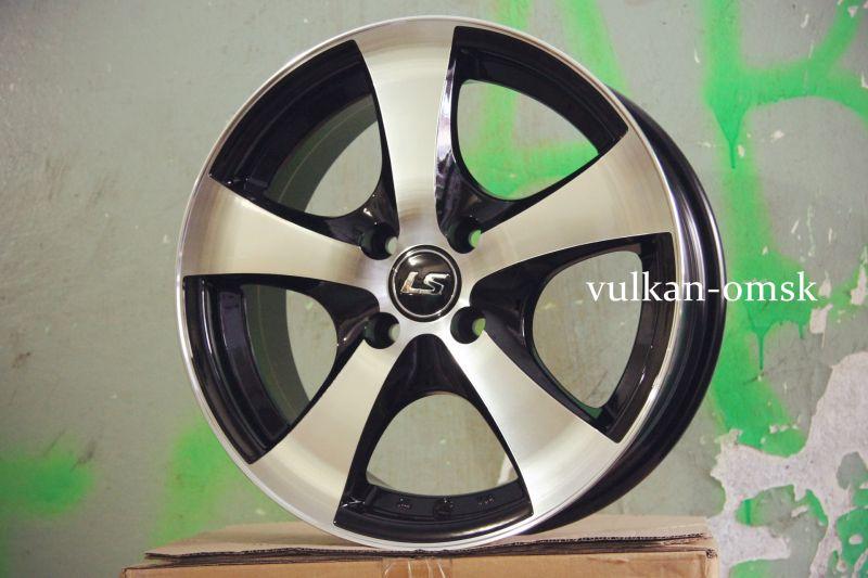 Диск LS Wheels R16 5*114.3 +40/73.1 LS324 BKF