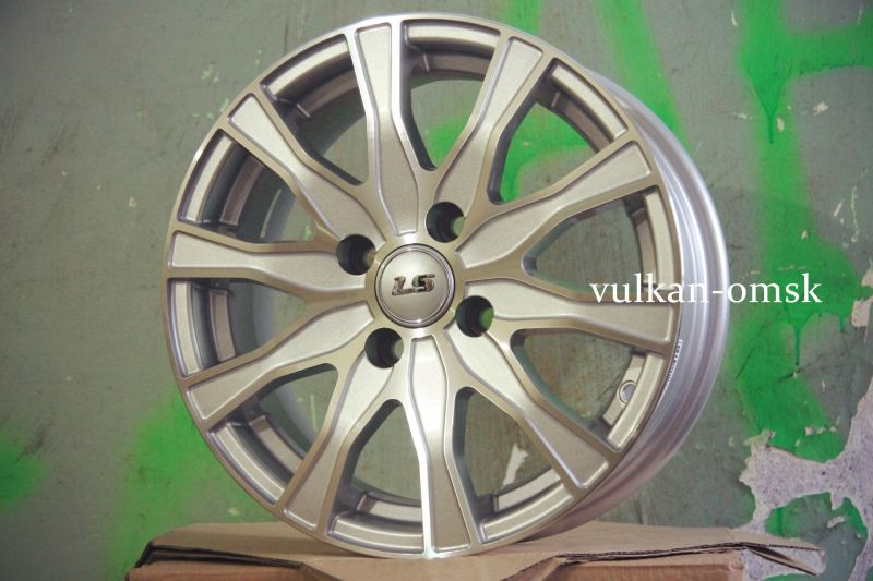 Диск LS Wheels R14 4*100 +39/73,1 LS168 SF