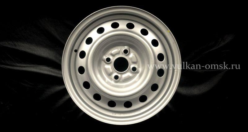 Диск Штамп. R16 5*108 +50/63.3 6.5J silver Racing