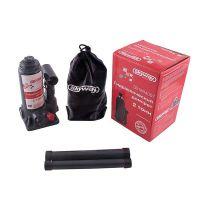 Домкрат гидравлический бутылочный 2т h 148-278 мм с клапаном в коробке+сумка SKYWAY