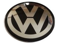 Стикер Volkswagen 60 мм выпуклый