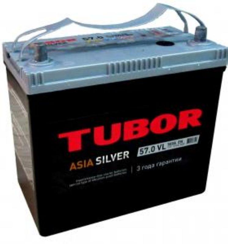 АКБ 57 Tubor Asia silver п/п